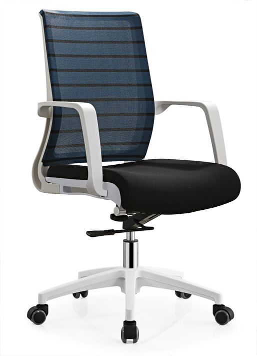 Cheap comfortable revolving office chair made in Shunde office staff computer seats -1