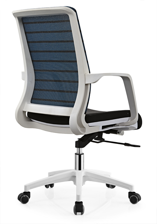Cheap comfortable revolving office chair made in Shunde office staff computer seats -3