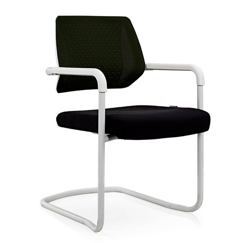 Eurotech Apollo Mesh Guest Chair With Sled Base Girsberger Yanos Cantilever Meeting Chair -1