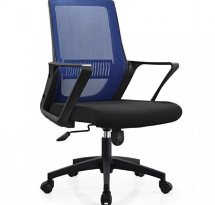 BISOTO Task Staff Swivel Computer Seats Medium Back Office Chair with castors