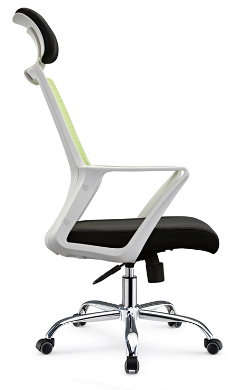 Longjiang Mesh Support Task Seating High Back Office Chair for Computer Desk with Arms and Height Adjustable -3