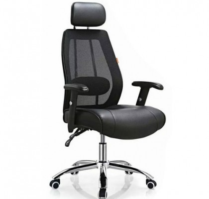 High-quality black high back mesh fabric office chair work chair