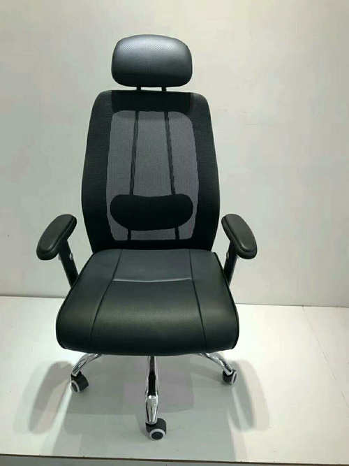 High-quality black high back mesh fabric office chair work chair -3