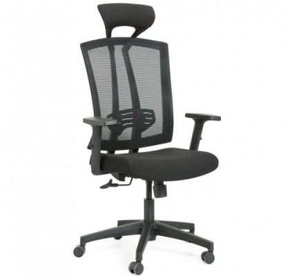Modern high back mesh swivel office chair with headrest