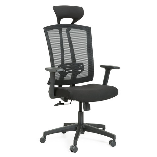 Modern high back mesh swivel office chair with headrest -2