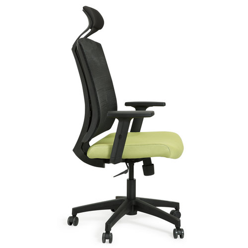 Modern high back mesh swivel office chair with headrest -4