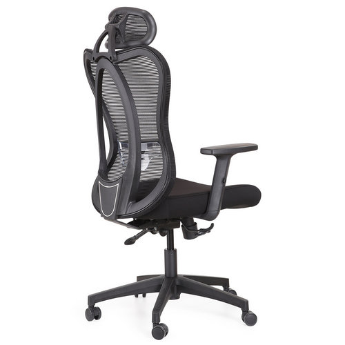 high back ergonomic fabric executive office computer chair -2