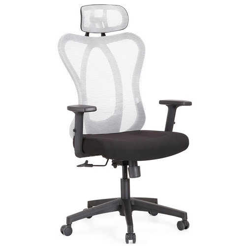 high back ergonomic fabric executive office computer chair -3